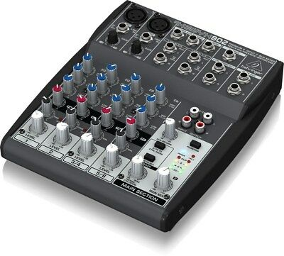 Behringer XENYX 802 8-Channel Compact Audio Mixer Brand New