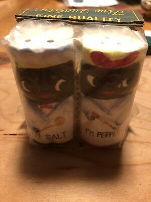 Aunt Jemima Salt And Pepper Shakers NEW