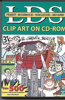 LDS Clip Art on CD-Rom COVENANT Primary Missionaries Newsletters Mormon