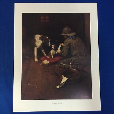 "Norman Rockwell Boy Scout Print 11""x14"" A Good Scout"