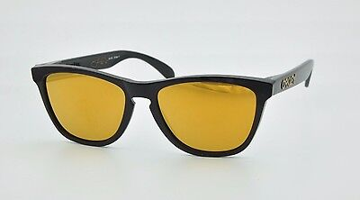 9b1043a7ae Oakley Frogskins Shawn White 24-272 Sunglasses Polished Black Iridum 24k  Gold