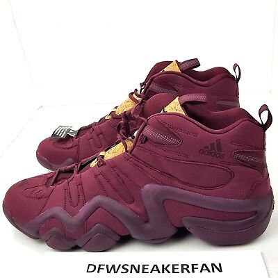 huge selection of 88156 5b2f2 Adidas Crazy 8 Vino Pack SZ 19 Maroon Kobe Men Basketball Shoe Sneaker  D70090 PP