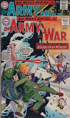 Dc Comics - Our Army At War - Sgt. Rock's Easy Co.- No.154 & 156 - May/july 1965