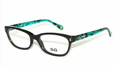 5fa62cc8d0 DOLCE   GABBANA Eyeglasses DG 1205 1826 Turqiouse 52mm With Case ...