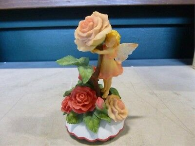 Cicely Mary Barker Collection Rose Flower Fairy by San Francisco Music Box