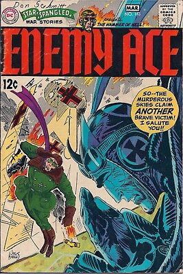 Dc Comics - Star Spangled War Stories Presents Enemy Ace - No. 143 - March 1969