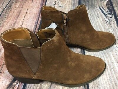 87b9d6965e0 NEW KENSIE GARRY Womens Brown Suede Ankle Boots Booties Size 8 or ...