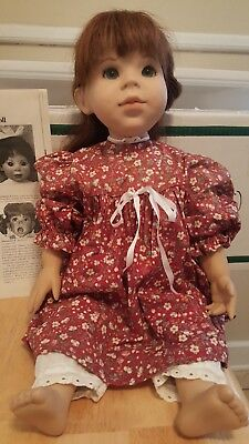 """""""Josefa"""" vinyl collectible doll by Grossle-Schmidt Signed By Artist"""