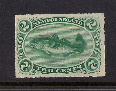 NEWFOUNDLAND MINT SC 38 hinged
