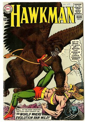 Hawkman #6 VF 8.0 off-white pages  DC  1965  No Reserve