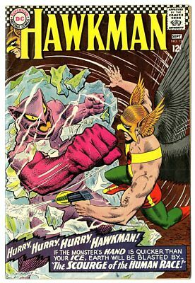 Hawkman #15 VF- 7.5 off-white pages  DC  1966  No Reserve