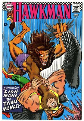 Hawkman #20 VF+ 8.5 off-white pages  DC  1967  No Reserve