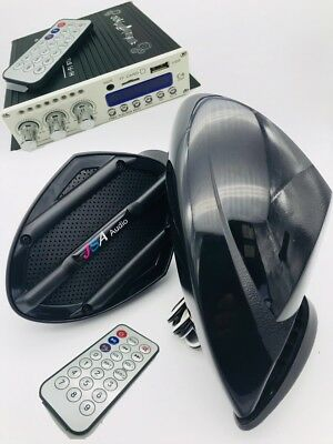 Jetski 2 Speaker Kit Amp Bluetooth System Universal Fit Seadoo Spark