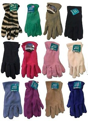 Ladies Women Lady Outdoor Fashion Winter Fleece Gloves