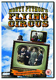 Monty Python's Flying Circus - Series 4 - Complete (DVD, 2007).New!