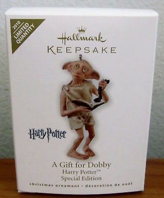"""""""A Gift for Dobbie"""" Hallmark Ornament Harry Potter Special Edition"""