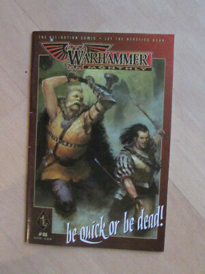 Warhammer monthly Nr.46 be quick or be dead!