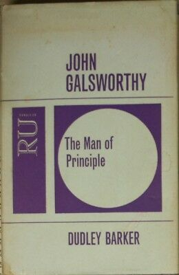 THE MAN OF PRINCIPLE, Barker,Dudley, Very Good Book