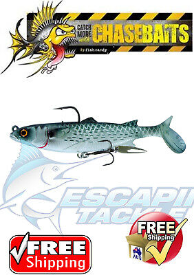 Poddy Mullet - Chasebaits. Barra, Flathead, Jacks, Mackeral. Deadly Lure