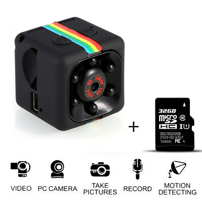 SQ11 Full HD 1080P Mini Car Hidden DV DVR Camera Spy Dash Cam IR Night Vision