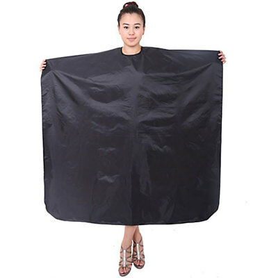 Coated Nylon Waterproof Salon Hair Cut Hairdressing Hairdresser Barber Cape Gown