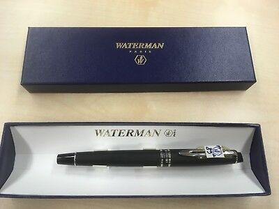 E25: Waterman Expert Füllfederhalter Fountain  Pen Stilografica (M) + Etui