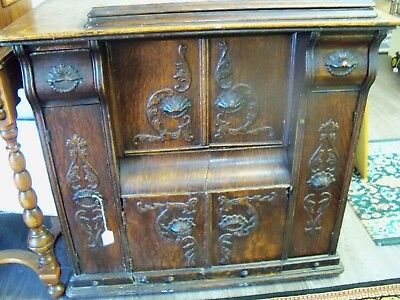 Antique SEWING MACHINE CABINET...FURNITURE..TABLE..BASE...