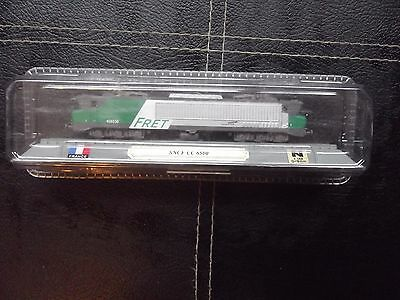 Del Prado N Gauge boxed model train - SNCF CC 6500. France.