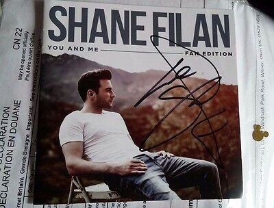 SHANE FILAN - *YOU & ME*  ALBUM SLEEVE ONLY Signed / Autographed
