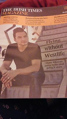 Shane Filan Irish Times Magazine August 2013  Westlife