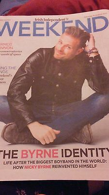 Nicky Byrne WEEKEND Magazine August 2016 Westlife