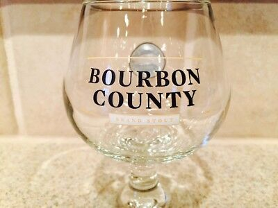 Bourbon County Brand Stout Goose Island 8oz Snifter Beer Glass
