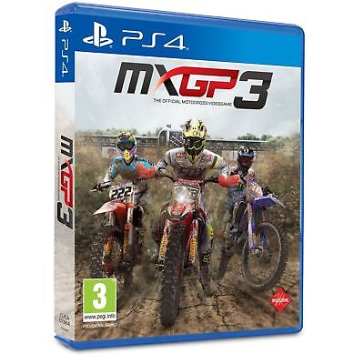 Mx Gp 3 Videogioco Mxgp 3 Moto Cross Ps4 Sport Italiano Play Station 4 Nuovo