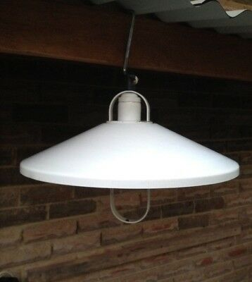 Vintage,Retro,1970's,Industrial,Scandanavian look Light Shade-Pendant,Pull Down.