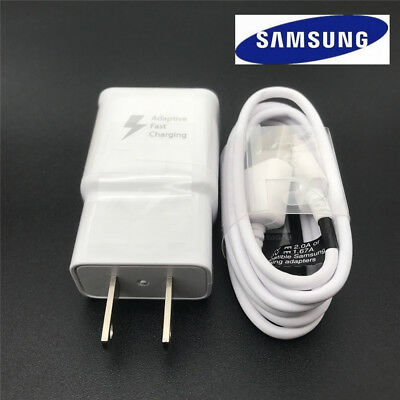 OEM Fast Wall Charger 4FT Micro usb cable for Samsung Galaxy S6 S7 Note4 5