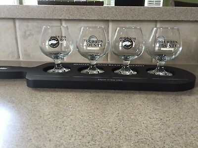 Goose island Bourbon County Brand stout Snifter And Paddle Set