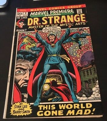 Marvel Premiere #3 Dr. Strange Series Begins. Pre #1 Key Issue!