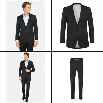 New Oxford NEW HOPKINS SUIT JACKET CHARCOAL X WITH MATCHING TROUSERS