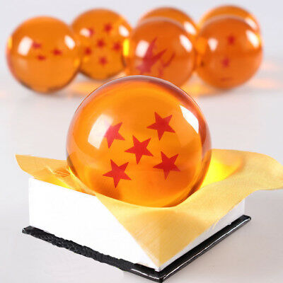 7CM Dragon Ball Z Goku Ball 5 Star Figure Toy Anime Game Collectibles DBFG0604
