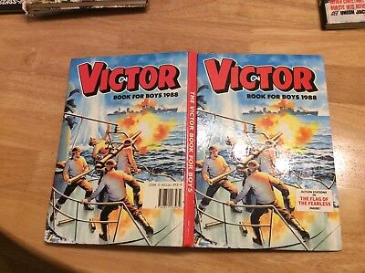 Victor Book for Boys 1988