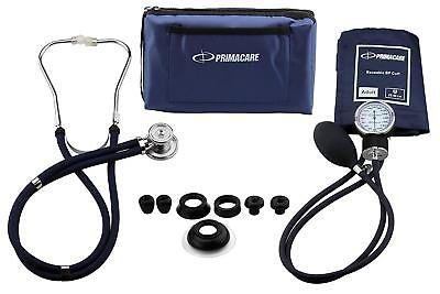 Professional Medical Blood Pressure Stethoscope Tester Automatic Upper Arm Kit