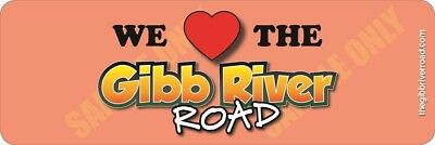 We Love The Gibb River Road - Apricot Background