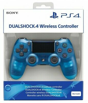 Controller Sony V2 Blue Crystal Wireless Ps4 Dualshock 4 Pad Blu Playstation 4
