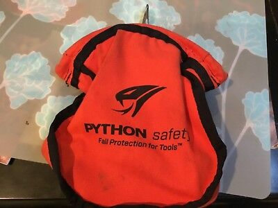 DBI SALA 1500119 Python Safety Small Parts Pouch Canvas Red free shipping