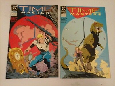 Time Masters complete mini series DC Comics starring Rip Hunter!