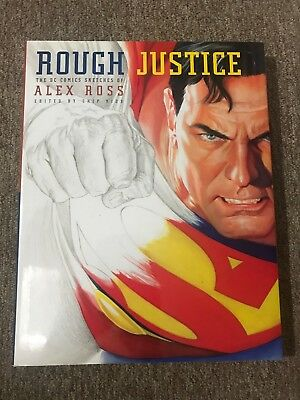 Rough Justice the DC Comics sketches of Alex Ross hardcover book