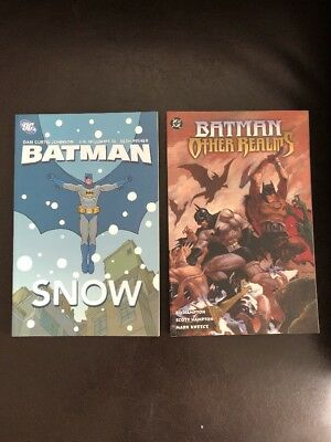 Batman Other Realms + Batman Snow TPB Lot