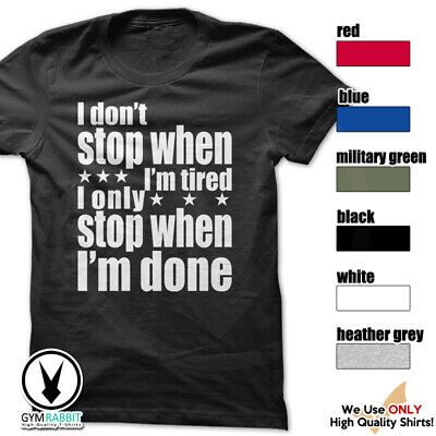 I/'m A I Don/'t Done Standard Unisex T-shirt Dont Stop When Tired Landscaper T