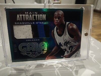 Shaquille O'Neal Prime Patch 14-15 Gala Main Attraction 3col Patch Shaq