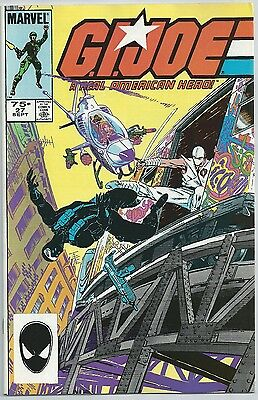 G.I. Joe A Real American Hero # 27 VF Bagged/Boarded